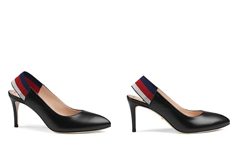Gucci Women's Leather High Heel Pumps - Bloomingdale's_2
