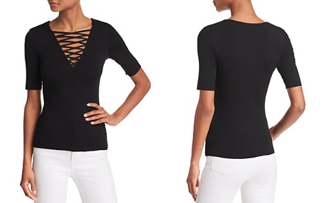 Bailey 44 Wild Thing Crisscross Strappy Tee - Bloomingdale's_2
