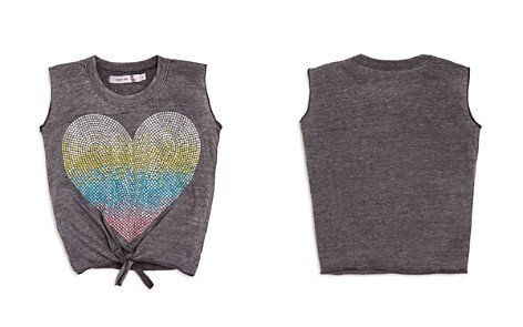 Play Six Girls' Tie-Front Embellished-Heart Tank - Little Kid - Bloomingdale's_2