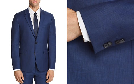HUGO Astian Slim Fit Sharkskin Suit Jacket - 100% Exclusive - Bloomingdale's_2
