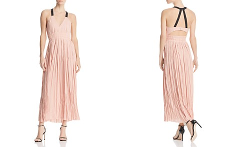 REISS Frances Shirred Maxi Dress - 100% Exclusive - Bloomingdale's_2