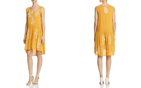 AQUA Embroidered Drop-Waist Dress - 100% Exclusive - Bloomingdale's_2