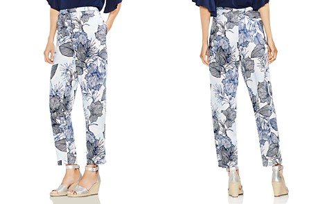 VINCE CAMUTO Etched Island Floral Straight-Leg Pants - Bloomingdale's_2