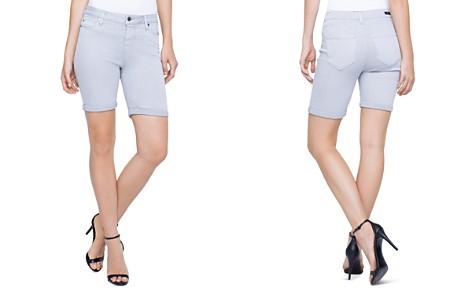 Liverpool Corine Cuffed Denim Shorts - Bloomingdale's_2