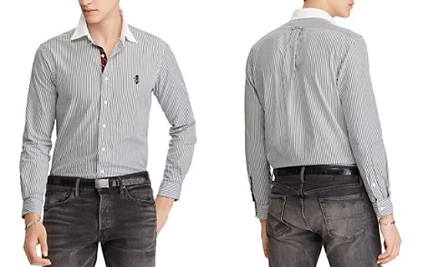 Polo Ralph Lauren Polo Striped Classic Fit Sport Shirt - Bloomingdale's_2