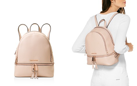 Michael Kors Rhea Medium Zip Leather Backpack - Bloomingdale's_2