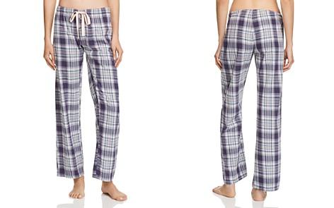 PJ Salvage Plaid Drawstring Pants - Bloomingdale's_2