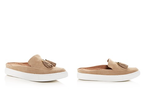 Gentle Souls by Kenneth Cole Women's Rory Suede Apron Toe Sneaker Mules - Bloomingdale's_2