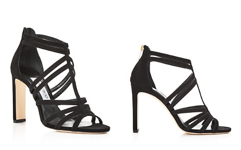 Jimmy Choo Women's Selina 100 Strappy Suede High-Heel Sandals - Bloomingdale's_2