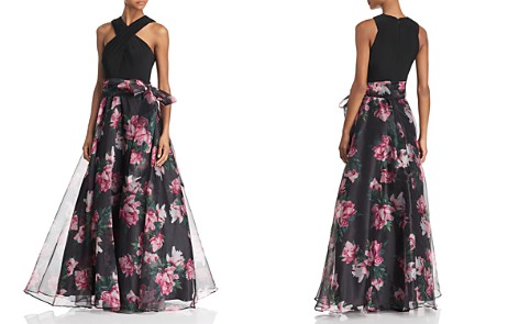 Eliza J Floral Organza Ball Gown - Bloomingdale's_2