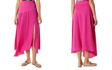 KAREN MILLEN Asymmetric Maxi Skirt - Bloomingdale's_2