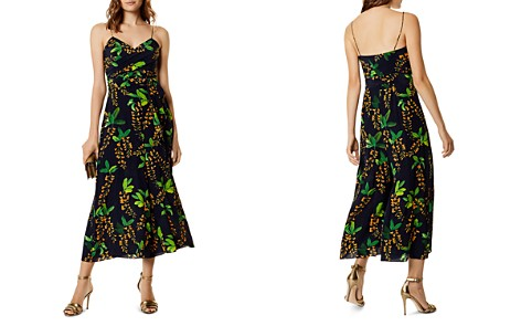 KAREN MILLEN Botanical Wide-Leg Silk Jumpsuit - Bloomingdale's_2