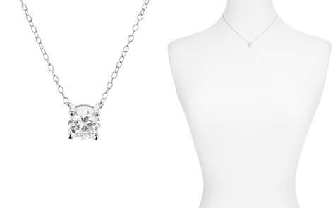 "AQUA Classic Brilliant Pendant Necklace, 14"" - 100% Exclusive - Bloomingdale's_2"