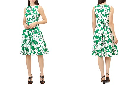 HOBBS LONDON Evie Floral Print Fit-and-Flare Dress - Bloomingdale's_2