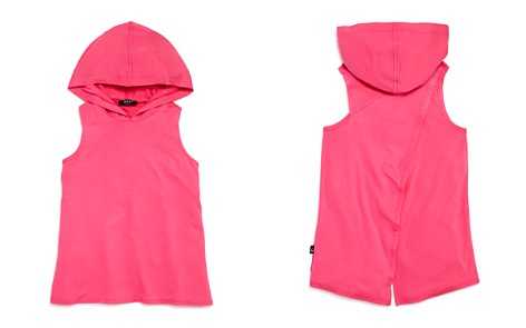 Terez Girls' Hooded Tank with Crisscross Back - Big Kid - Bloomingdale's_2