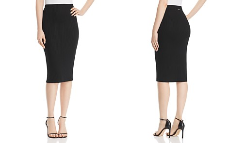 MICHAEL Michael Kors Ribbed Pencil Skirt - Bloomingdale's_2