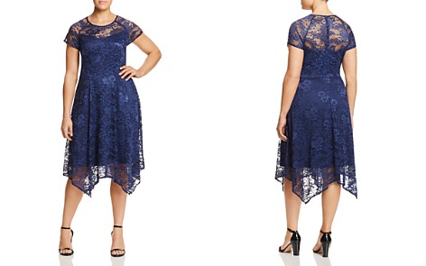 Estelle Spellwood Lace-Overlay Dress - Bloomingdale's_2