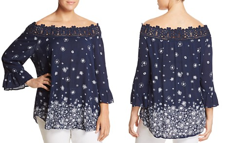 Estelle Daisy Fields Printed Off-the-Shoulder Top - Bloomingdale's_2