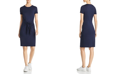 Three Dots Tie-Front Jersey T-Shirt Dress - Bloomingdale's_2