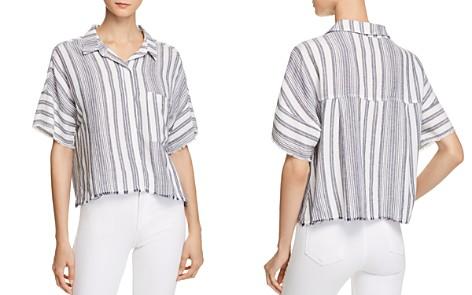 Bella Dahl Stripe Camp Shirt - Bloomingdale's_2