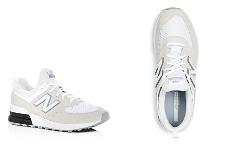 New Balance Men's 574 T3 Sport Suede & Knit Lace Up Sneakers - Bloomingdale's_2