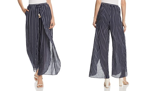 AQUA Striped Wide-Leg Pants - 100% Exclusive - Bloomingdale's_2