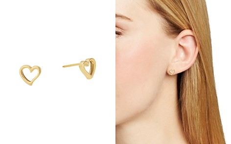 Alex and Ani Heart Stud Earrings - Bloomingdale's_2