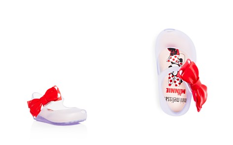 Mini Melissa Girls' Ultragirl + Minnie Mary Jane Flats - Walker, Toddler - Bloomingdale's_2