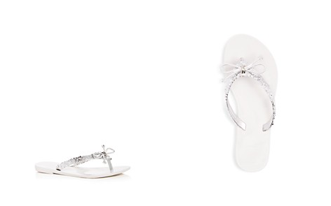 Mini Melissa Girls' Harmonic Embellished Flip-Flops - Toddler, Little Kid - Bloomingdale's_2