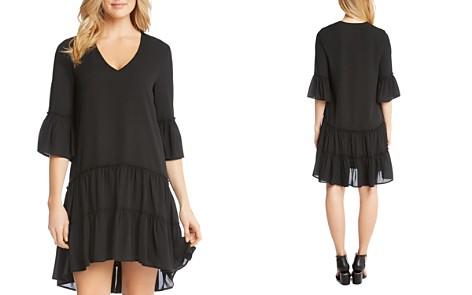 Karen Kane Tiered Ruffle Hem Dress - Bloomingdale's_2