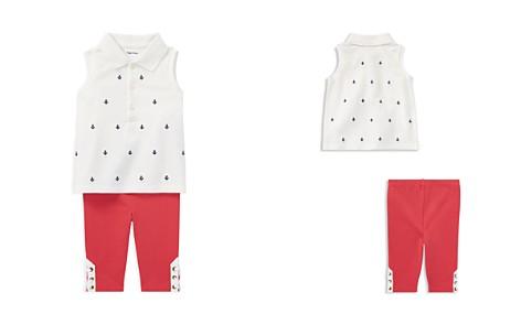 Ralph Lauren Girls' Sleeveless Polo & Lace-Up Leggings Set - Baby - Bloomingdale's_2