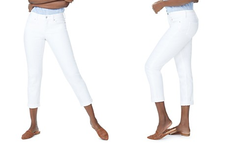 NYDJ Slim Boyfriend Jeans in Optic White - Bloomingdale's_2