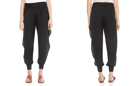 HALSTON HERITAGE Ruffled Side-Slit Jogger-Style Pants - Bloomingdale's_2