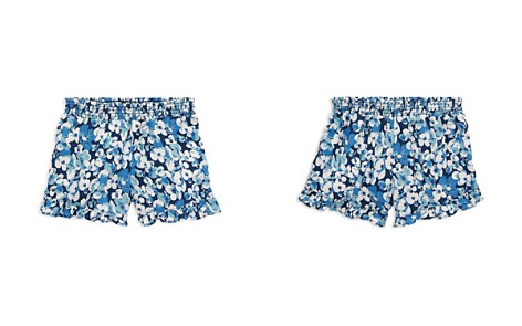 Polo Ralph Lauren Girls' Ruffled Floral-Print Shorts - Little Kid - Bloomingdale's_2