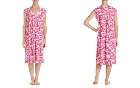 Eileen West Cap Sleeve Long Nightgown - Bloomingdale's_2