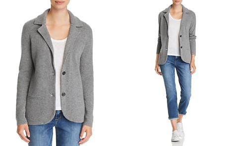 C by Bloomingdale's Cashmere Sweater Blazer - 100% Exclusive _2