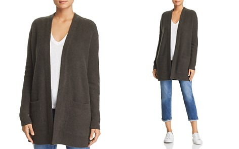 C by Bloomingdale's Pocket Cashmere Cardigan - 100% Exclusive _2