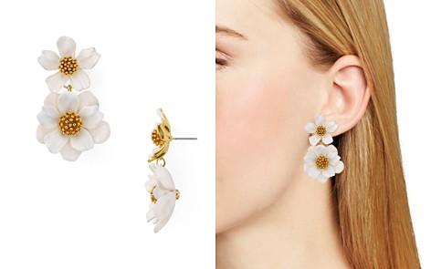 kate spade new york Floral Drop Earrings - Bloomingdale's_2