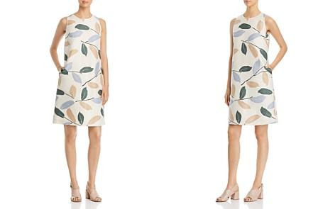 Lafayette 148 New York Hana Embellished Leaf Shift Dress - Bloomingdale's_2