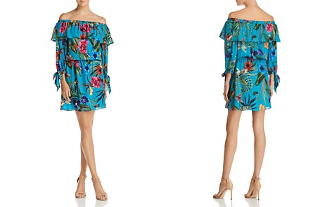 Parker Alexis Off-the-Shoulder Floral Dress - Bloomingdale's_2