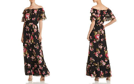 WAYF Jasper Off-the-Shoulder Maxi Dress - 100% Exclusive - Bloomingdale's_2