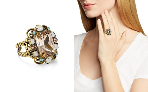 Sorrelli Faceted Cluster Statement Ring - Bloomingdale's_2