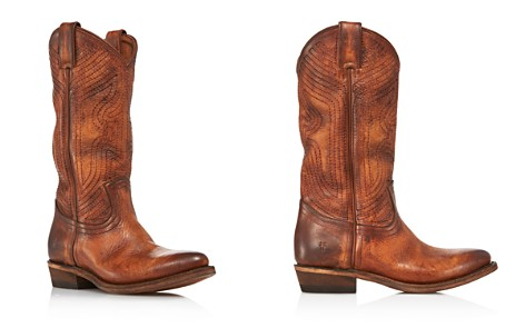 Frye Women's Billy Tall Embroidered Leather Western Boots - 100% Exclusive - Bloomingdale's_2