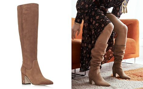 Sam Edelman Women's Hai Suede Tall Boots - 100% Exclusive - Bloomingdale's_2