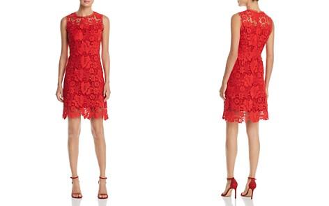 T Tahari Jolie Sleeveless Lace Dress - Bloomingdale's_2