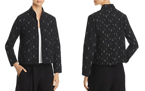 Eileen Fisher Graphic Pattern Jacket - Bloomingdale's_2