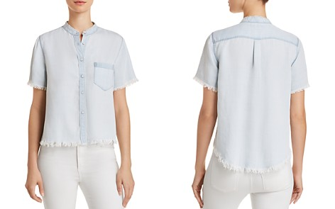 DL1961 Montauk Chambray Shirt - Bloomingdale's_2
