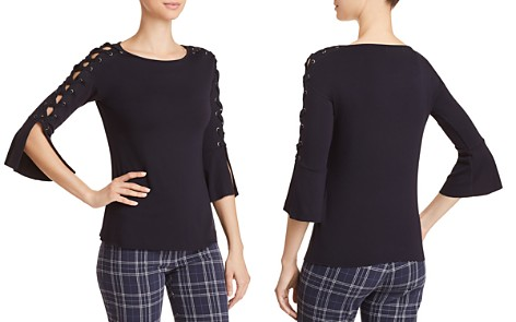 Bailey 44 Alma Mater Lace-Up Sleeve Top - Bloomingdale's_2