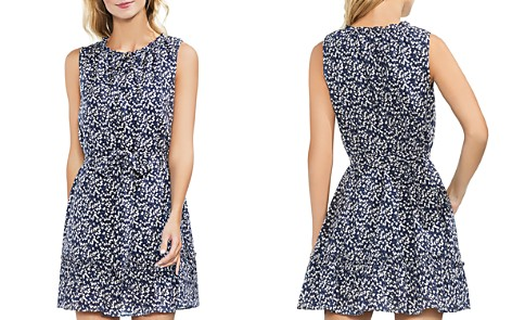 VINCE CAMUTO Whirlwind Belted Floral-Print Dress - Bloomingdale's_2
