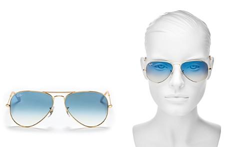 Ray-Ban Unisex Brow Bar Aviator Sunglasses, 58mm - Bloomingdale's_2
